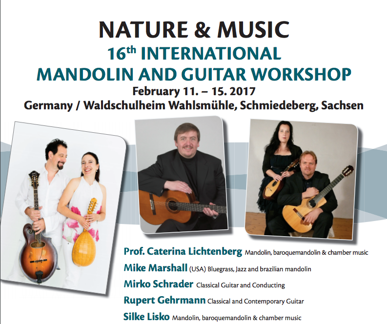 upcoming mandolin workshop in germany with mike marshall and caterina lichtenberg