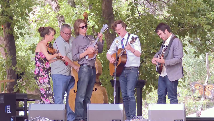 michael daves and friends live at rockygrass