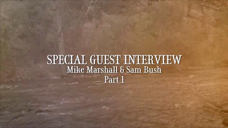 Mike Marshall Interviews Sam Bush