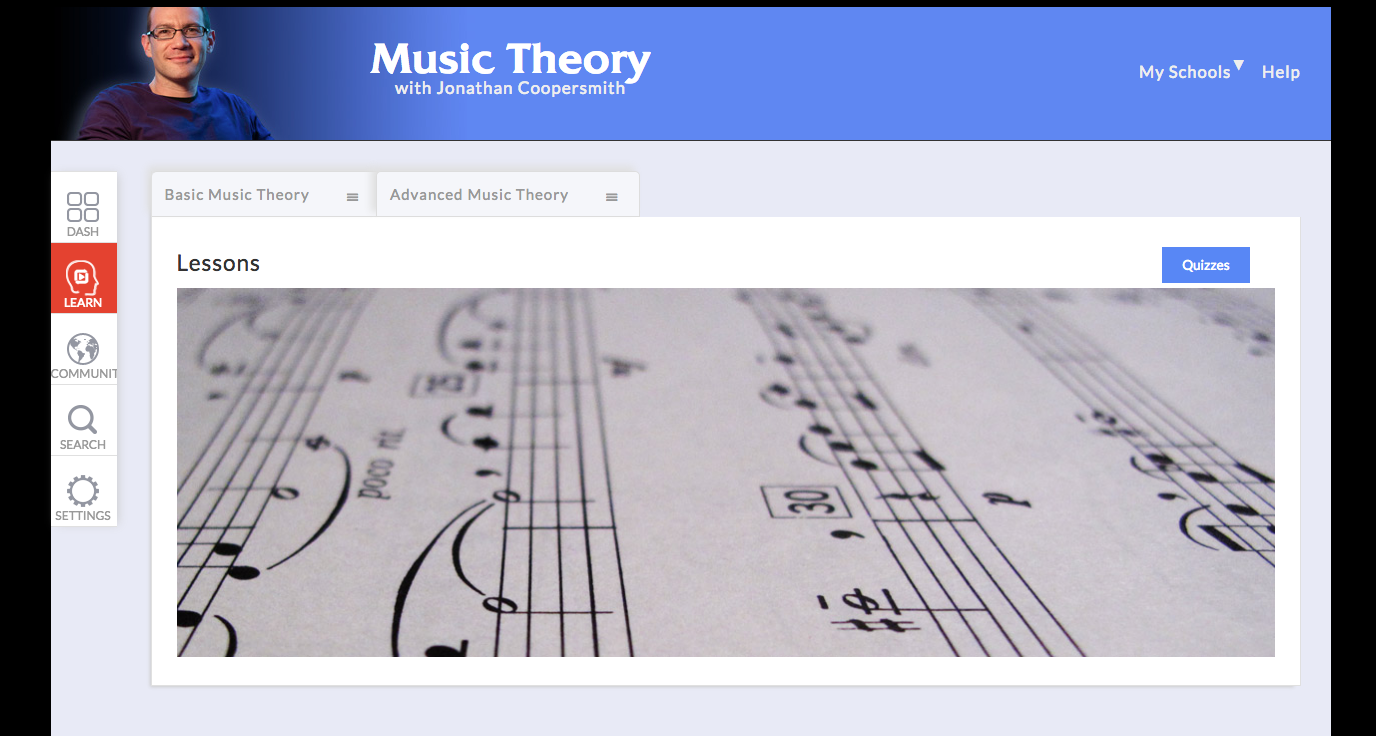 music theory lessons at artistworks