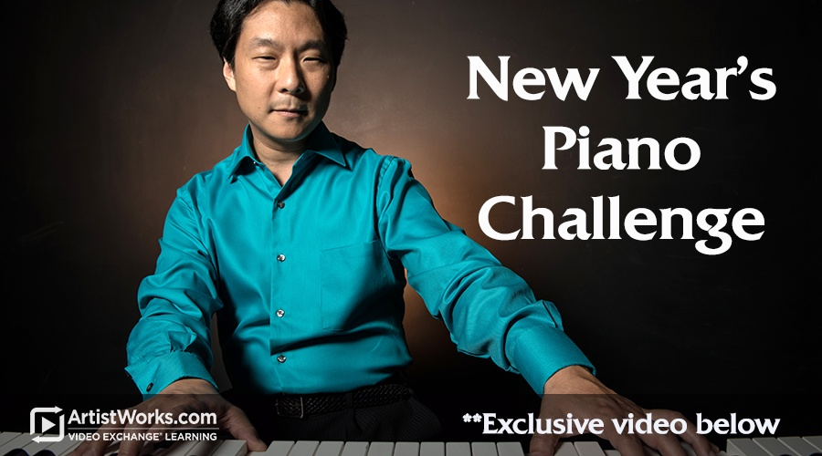new year's piano challenge from hugh sung