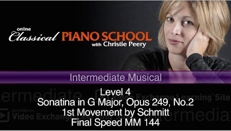 piano sonatina g major