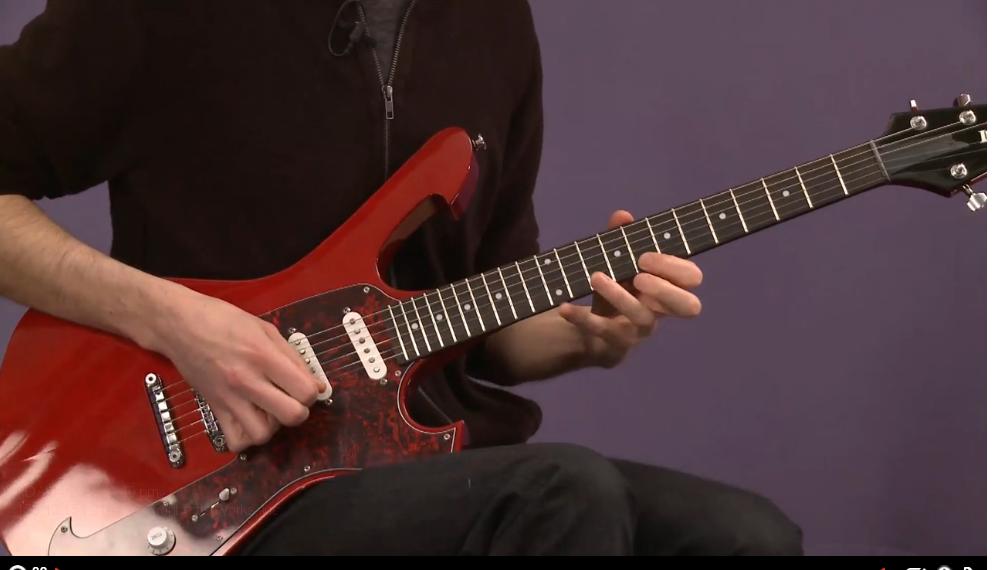 rock guitar scales