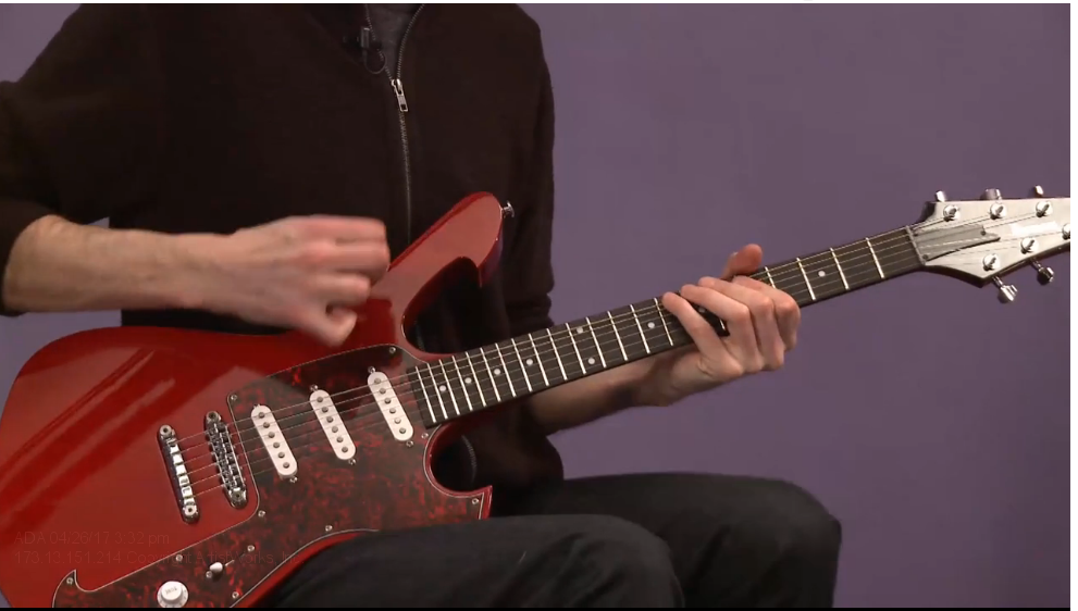 rock guitar scales - pinky finger