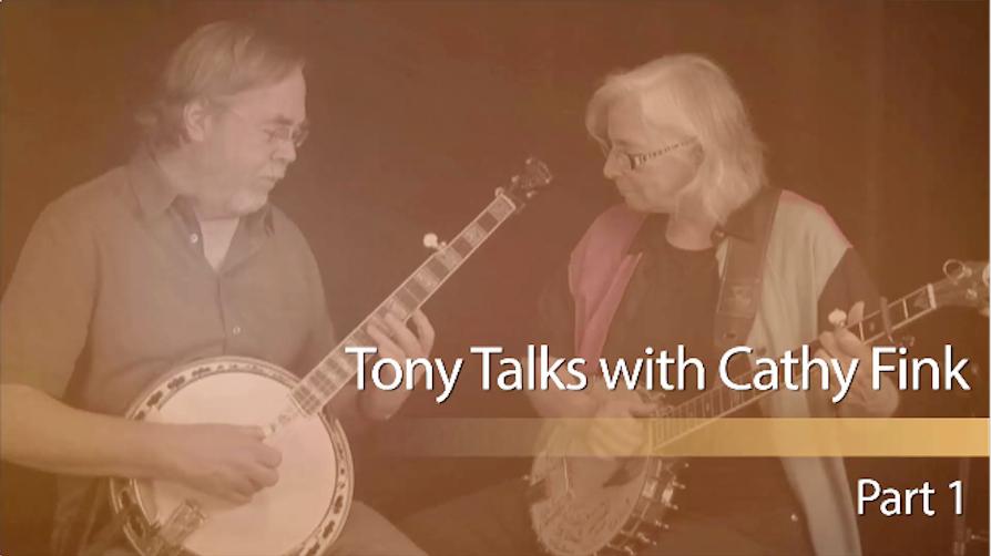 tony trischka cathy fink banjo interview