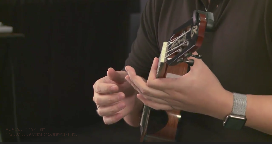 barre chords on ukulele