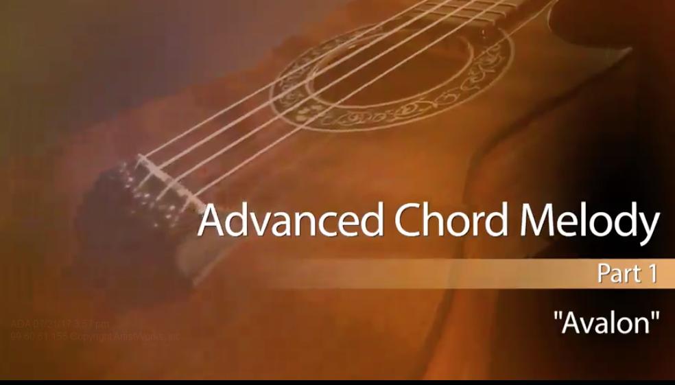 new ukulele lessons - advanced chord melody