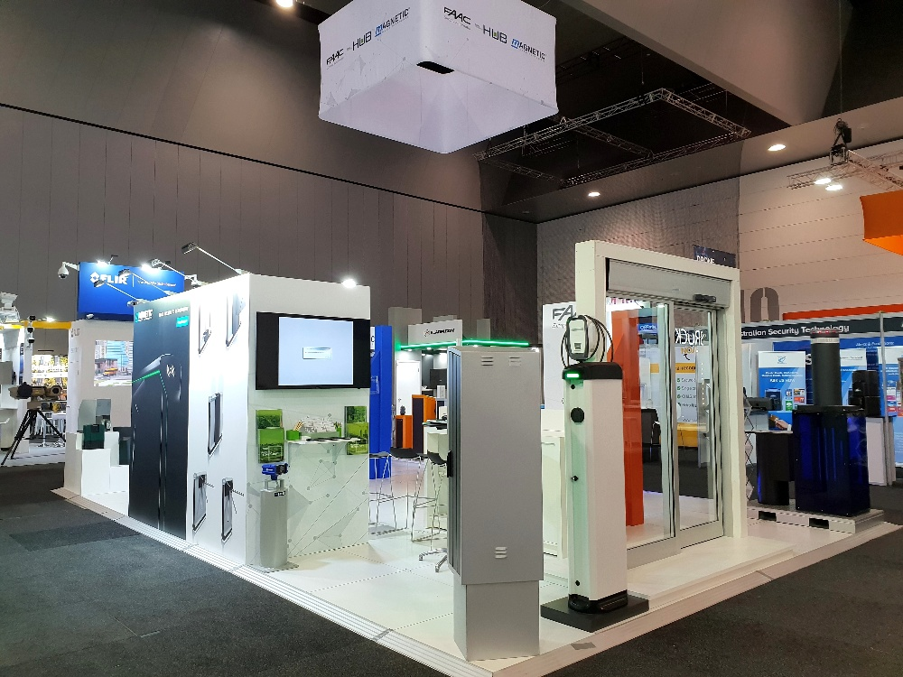 FAAC Group Exhibition Stand