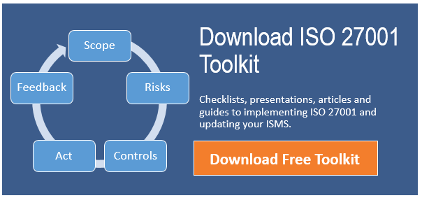 iso 27001 toolkit updating isms