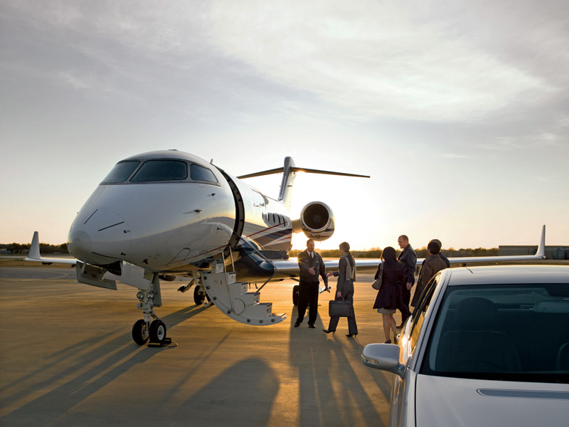 From tarmac to take-off. By avoiding mainstream flying schedules, services such as Flexjet can guarantee massive time savings for clients.
