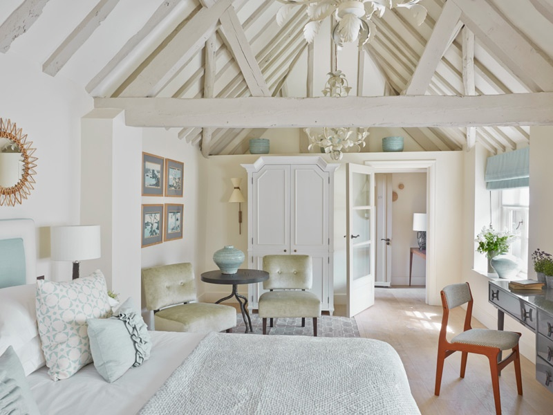 """A bit like home, but better"" is how Dormy House Hotel describes its English farmhouse-meets-Scandinavian-chic design."