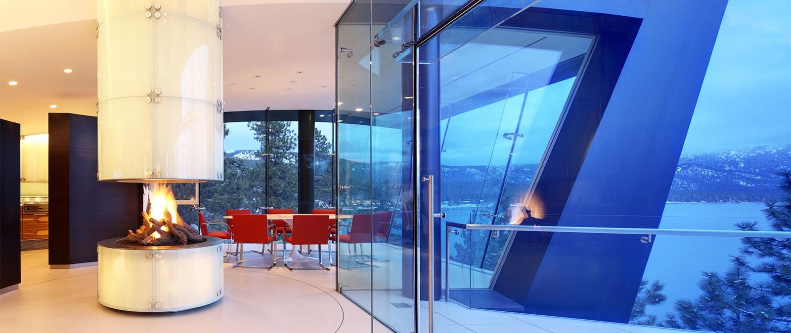 seven high-tech homes