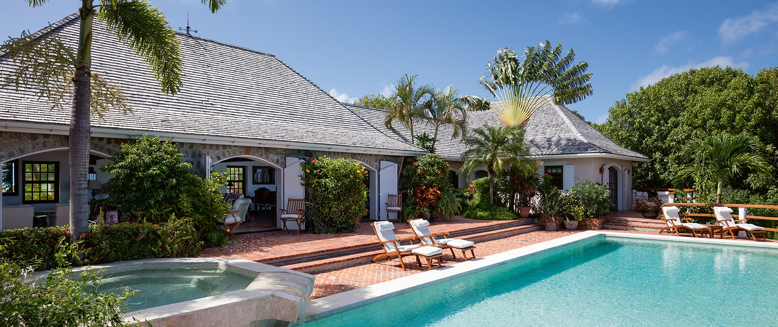 villa chanticleer: sweet seclusion on st barts