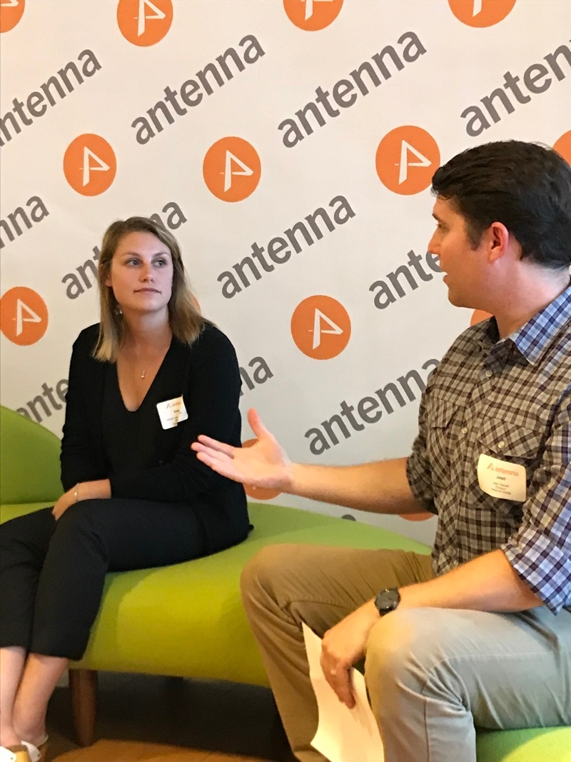 Emma Foehringer Merchant, Greentech Media and Josh Garrett, Antenna Group