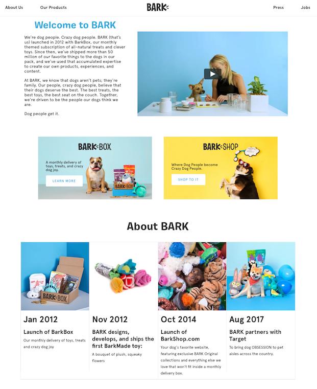 BARK Brand Story