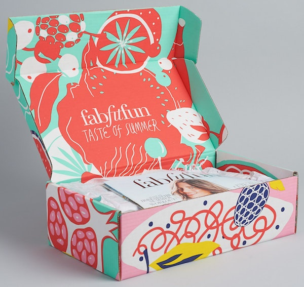 Branded Shipping Boxes FabFitFun
