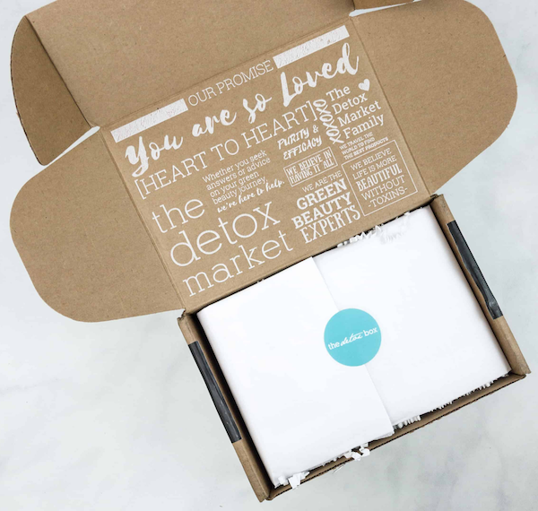 Branded Shipping Boxes The Detox Box