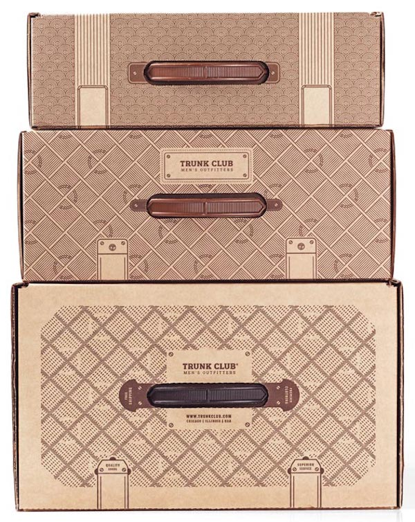 Trunk Club Branded Packaging