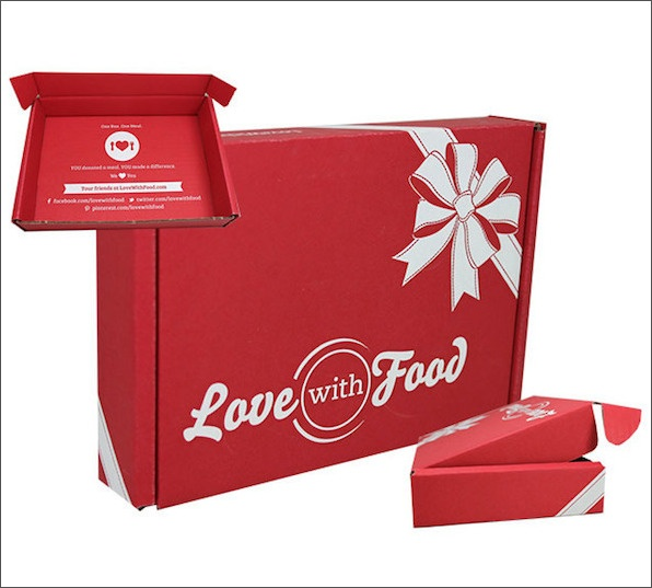 Love with Food Holiday Packaging