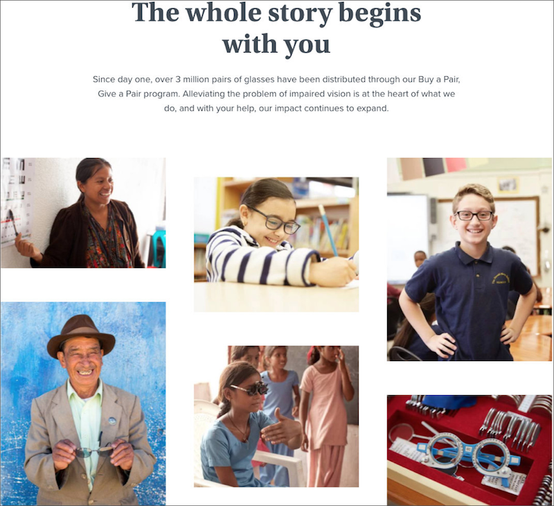 Warby Parker Mission