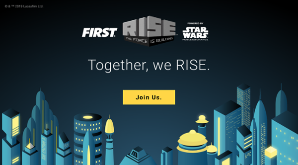 Together, we RISE. Join Us.