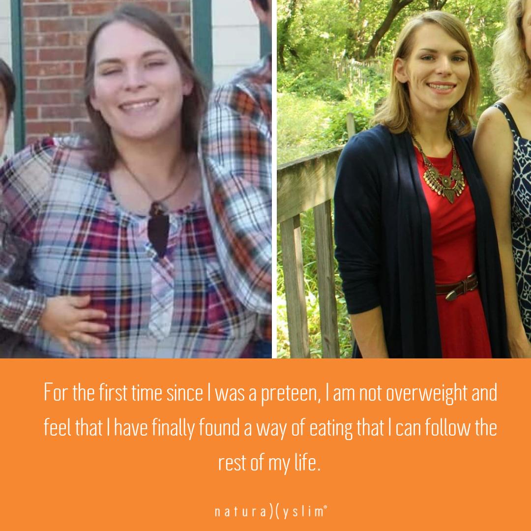 Erica's Naturally Slim Journey