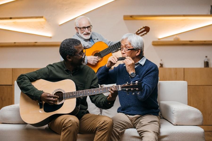 People Playing Music- Increasing Brain Health