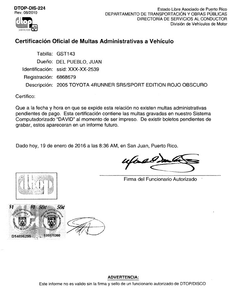 How to Ship a Vehicle from Puerto Rico to US Mainland Notary Letter Template For Car Accident on notary statement letter sample, notary to notarize letter, notary letter format, samples of notarized proof of income letters, notary examples of letters, notary document format, notary notarized letter,