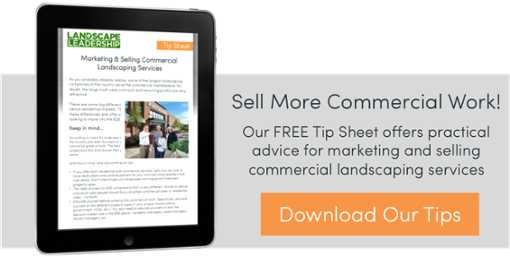 B2B Marketing Strategy and Best Practices for Commercial Landscapers