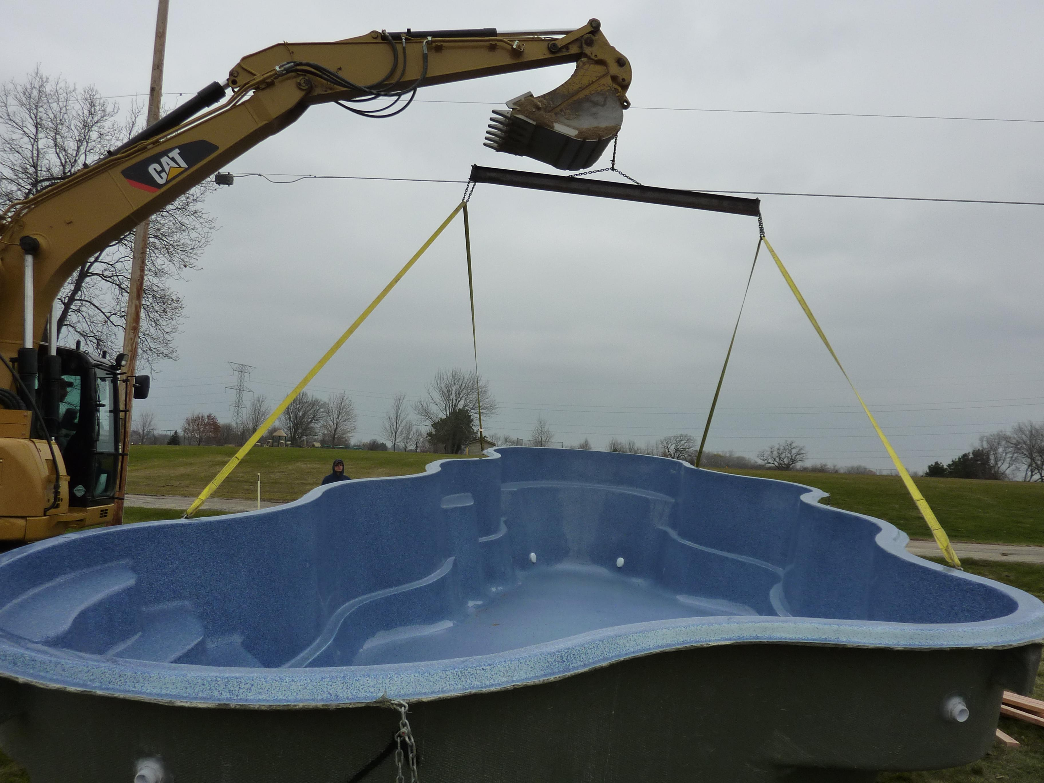 How Long to Install a Fiberglass Pool Waukesha