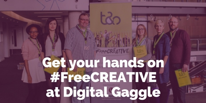 Get your hands on #FreeCREATIVE at Digital Gaggle