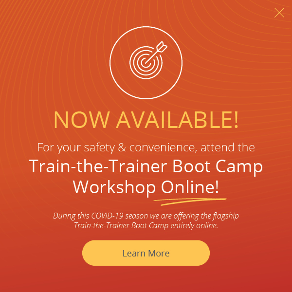 train-the-trainer boot camp now available online
