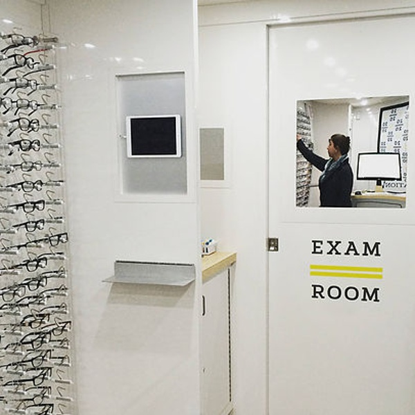 EYE EXAMS AT THE OFFICE