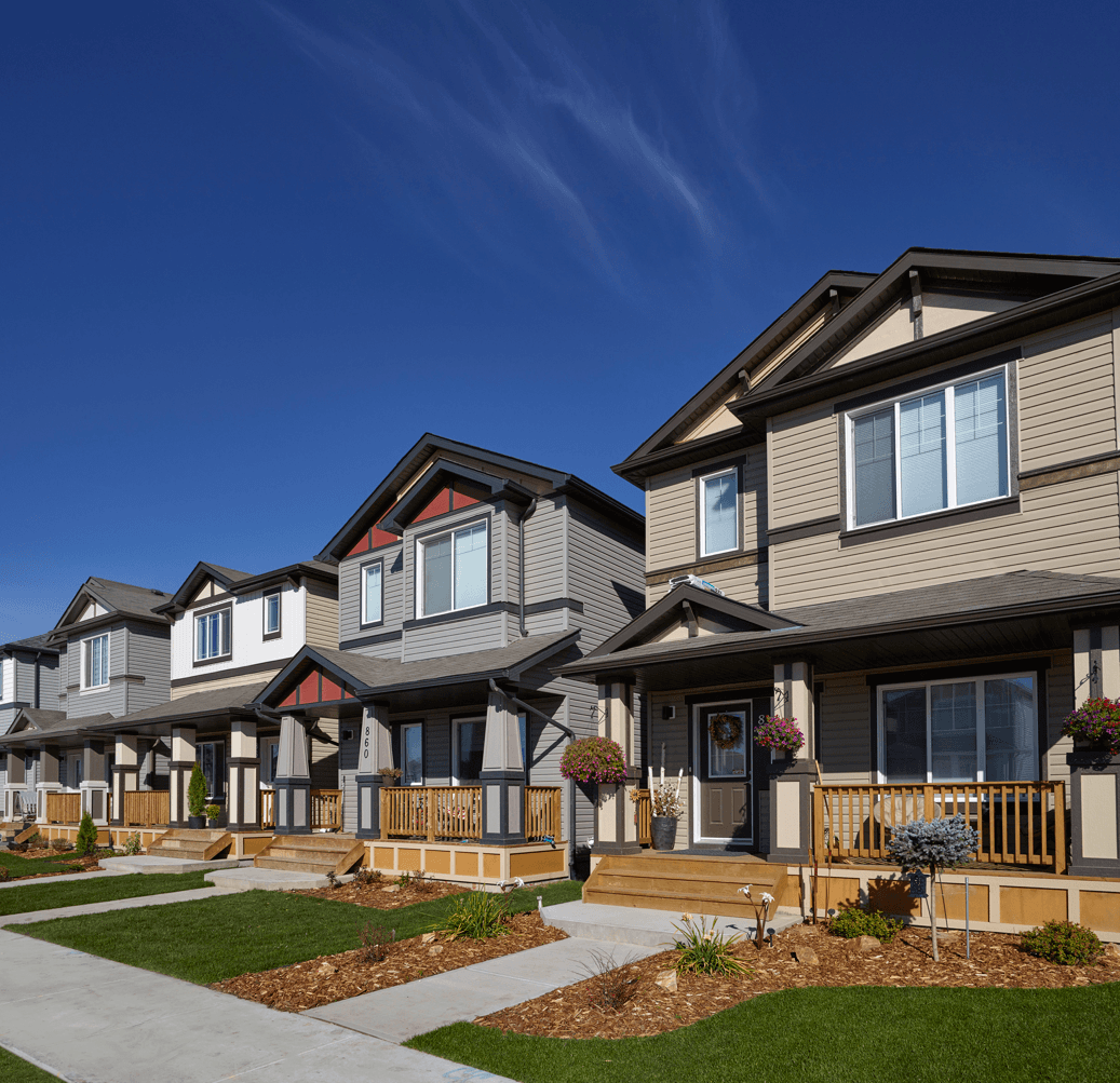 Home Styles You'll Find in Qualico Communities Laned Homes Images