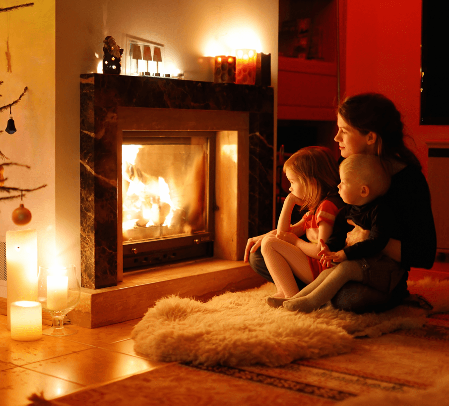Ways to Make Your Home Feel Warmer As Winter Sets In Fireplace Image