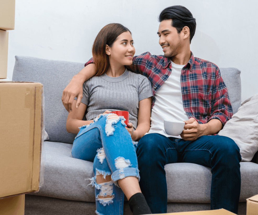 Is it Time to Move Up to a Bigger Home? 7 Ways to Tell if You're Ready Couple Image