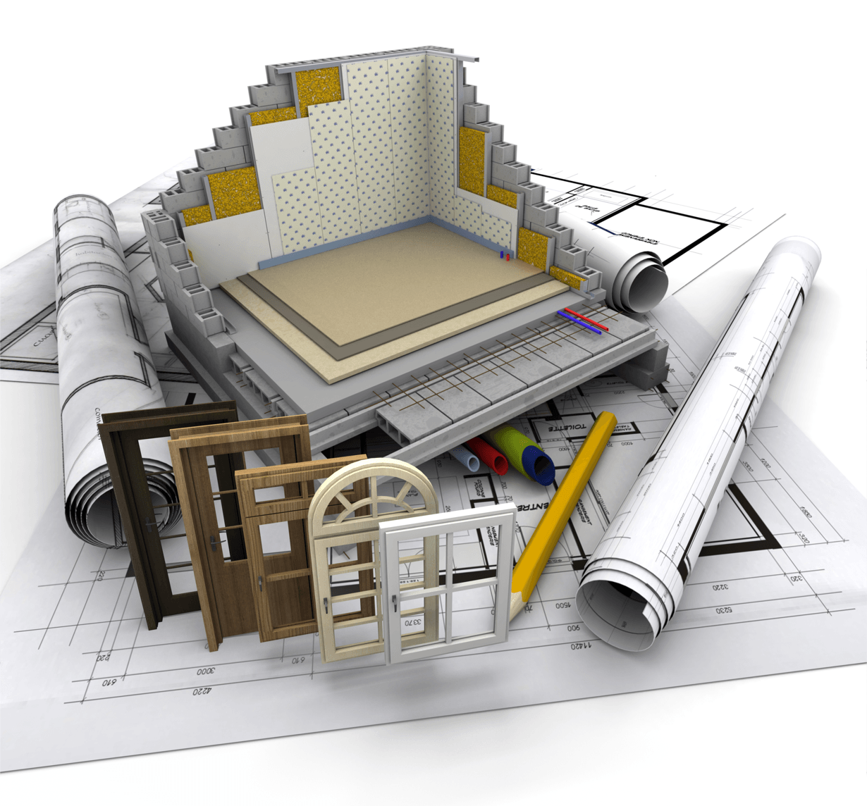 Fixer Upper or Building New - Which Is Better for You? Blueprints Image