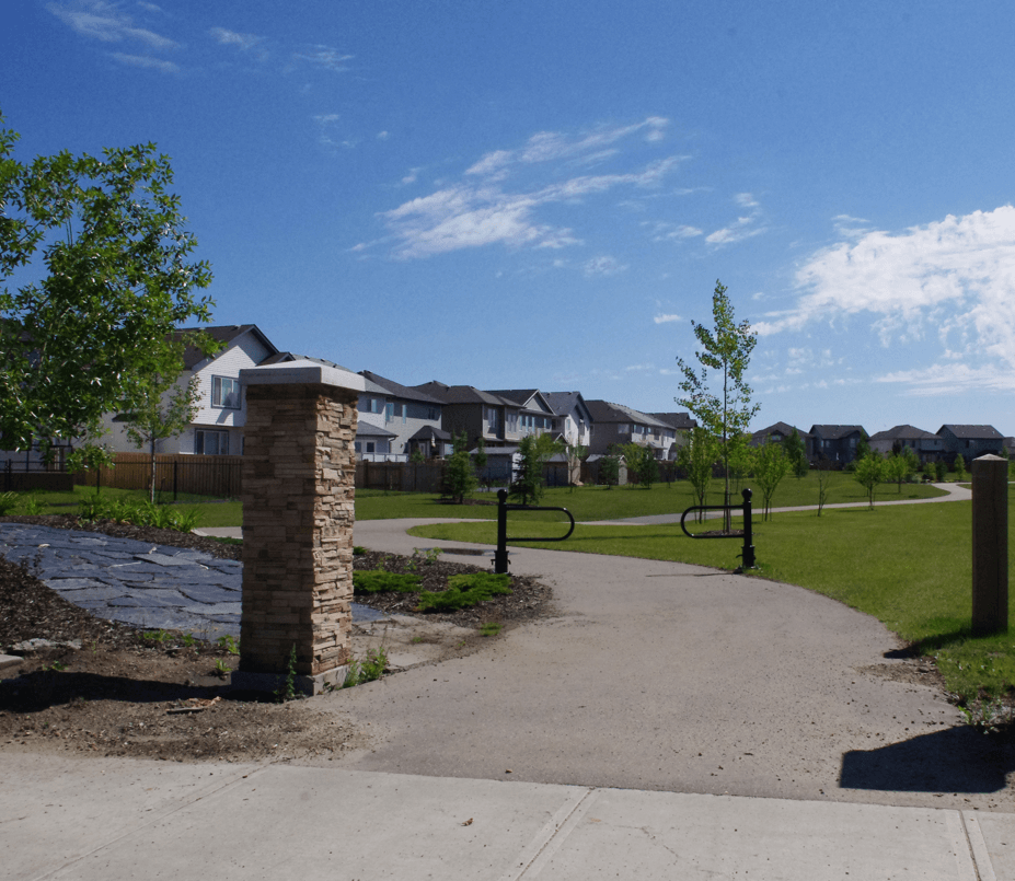 Love Your Community: Forest Ridge Community Entrance Trails Image