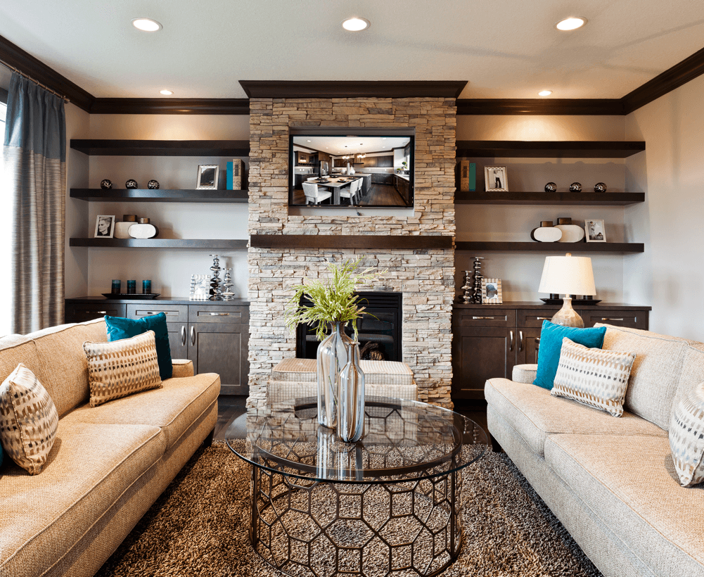 8 Advantages to Choosing a New Home Build Great Room Image