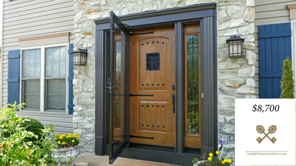 how much does an entry door cost
