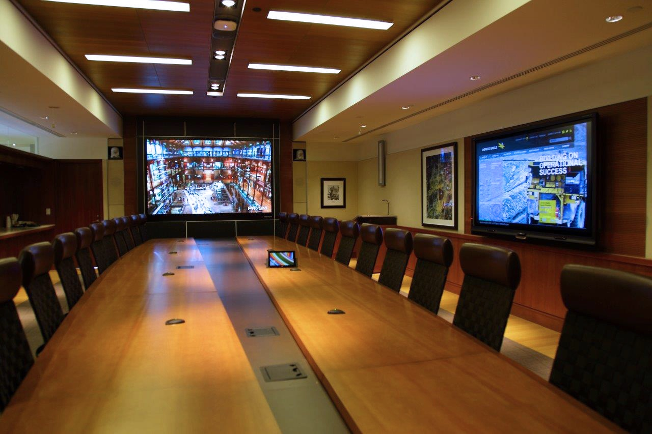 """Agnico Eagle """"Strikes Gold"""" With Stunning Prysm Collaboration Video Wall"""