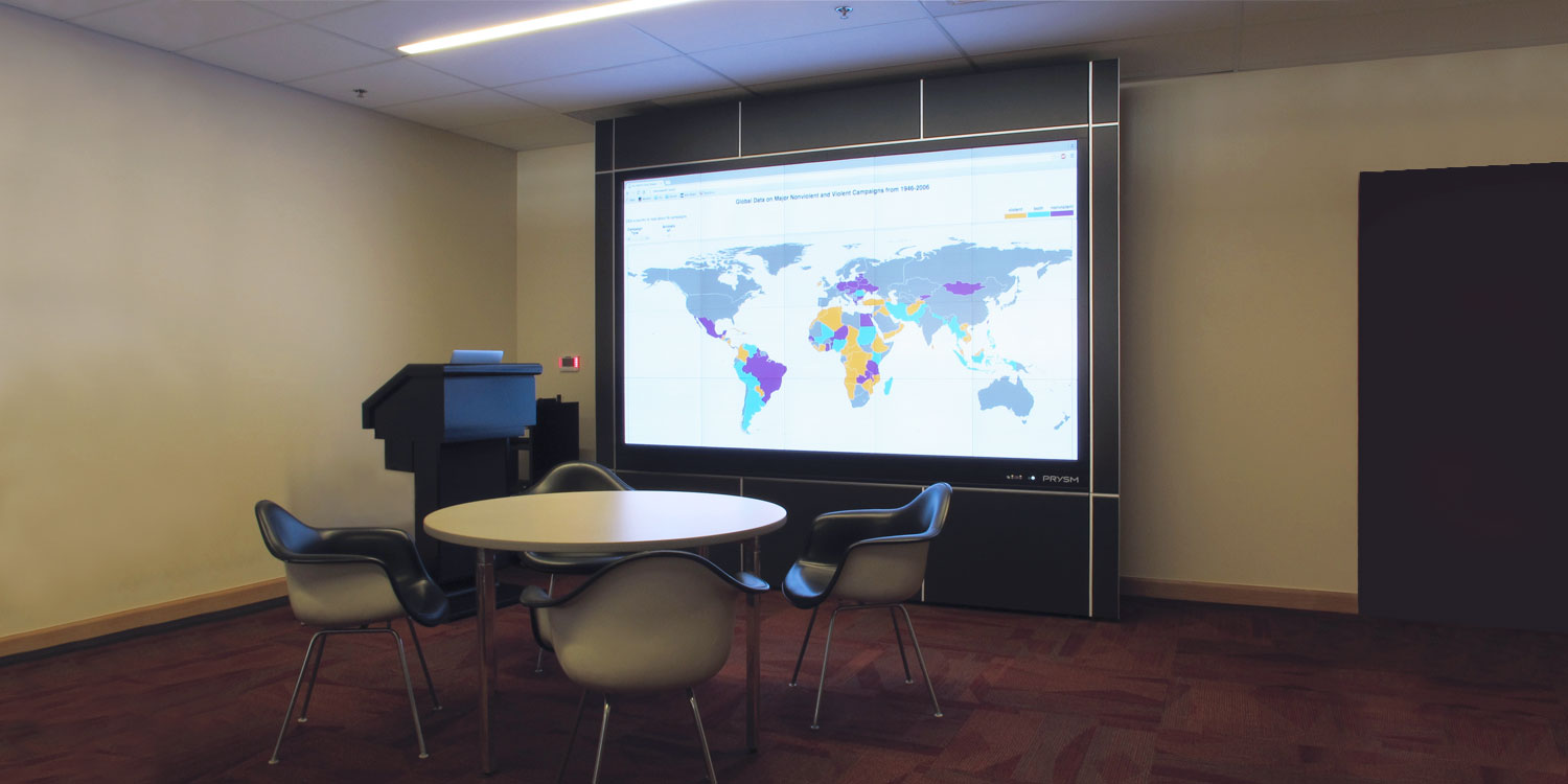University of Denver Advances Research and Learning with Prysm Video Wall