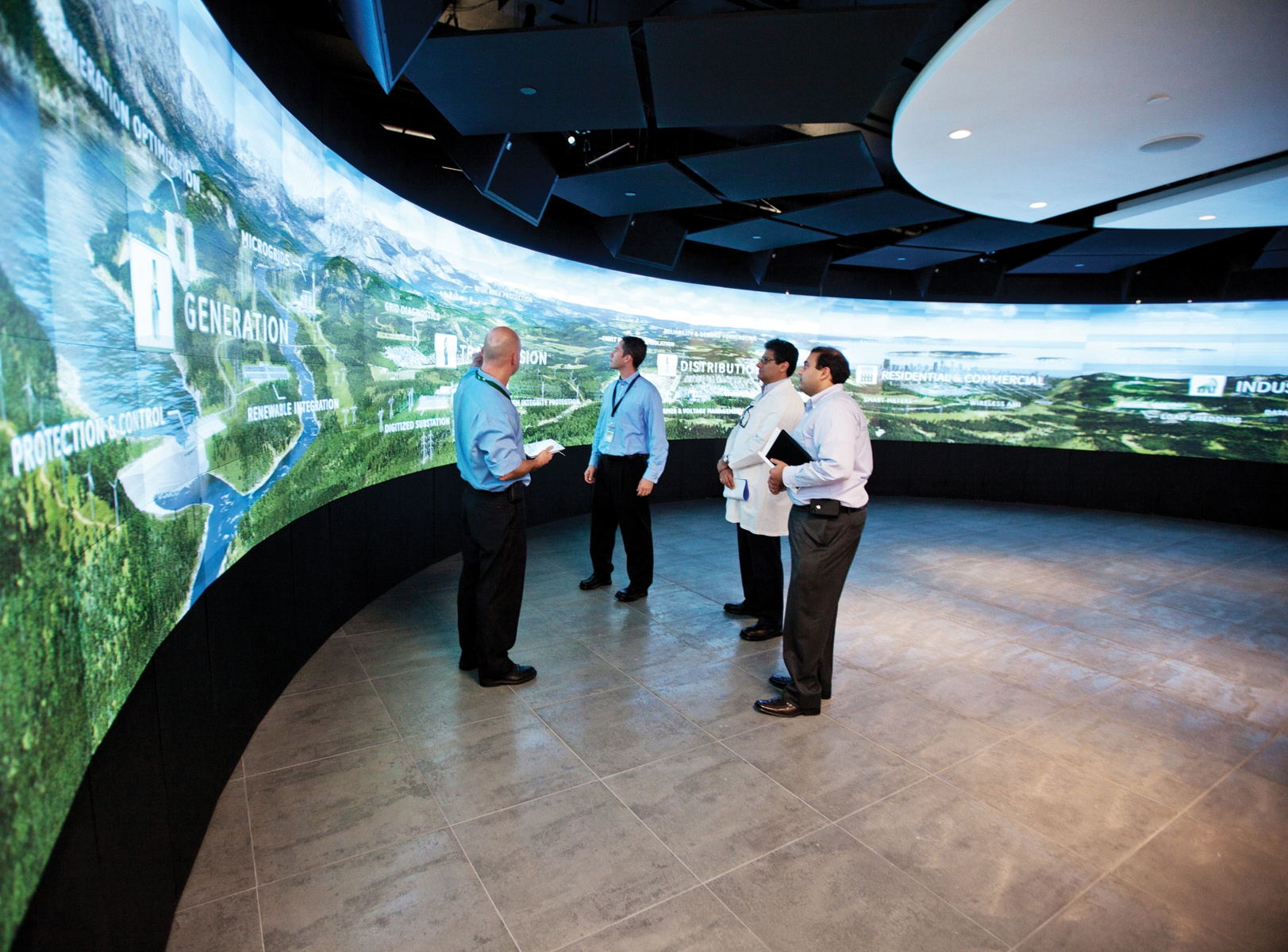 GE Showcases Prysm Video Wall in New Customer Experience Center