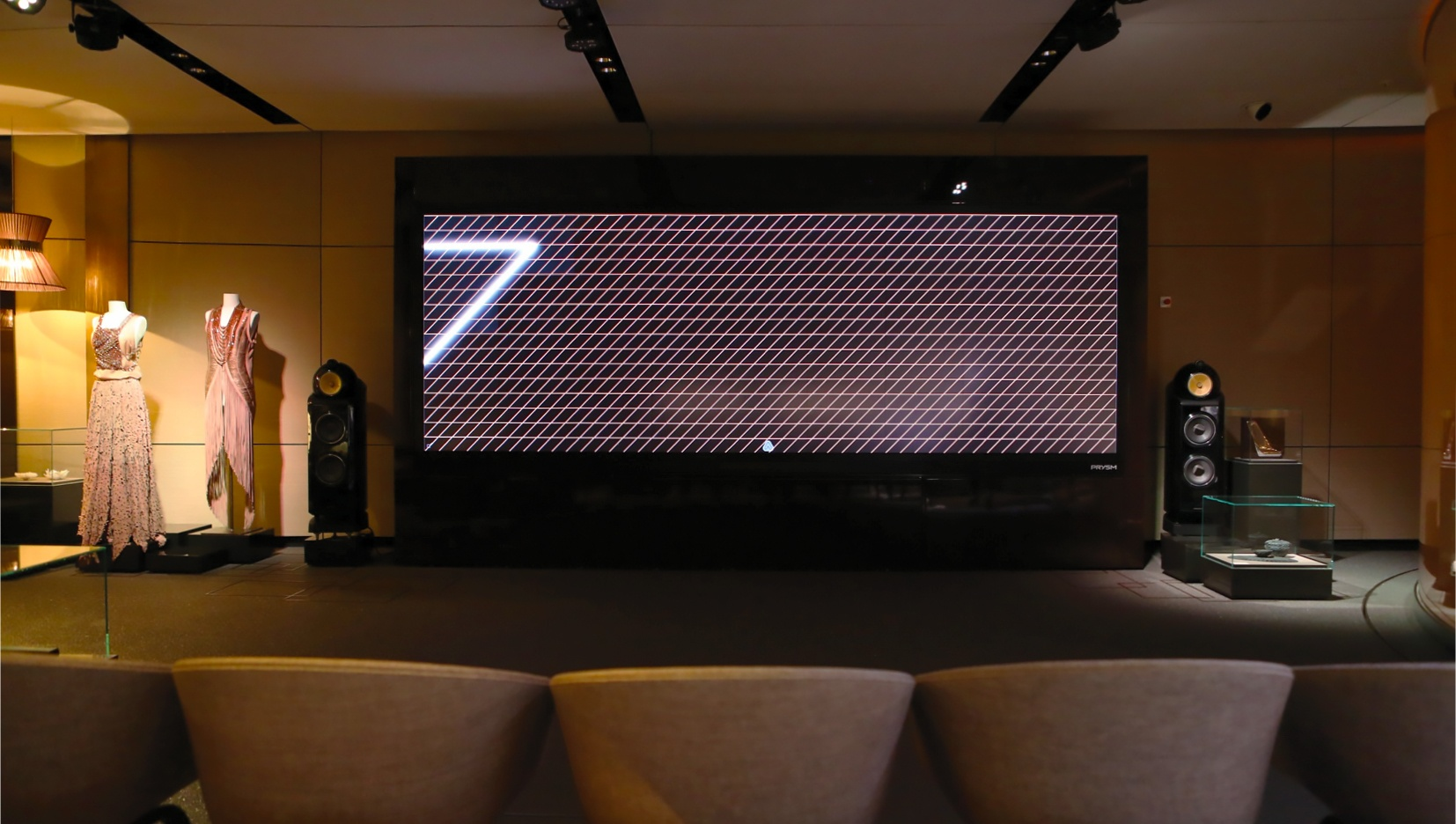 BMW Inspires 7 Series Customers With Prysm Cascade Video Wall
