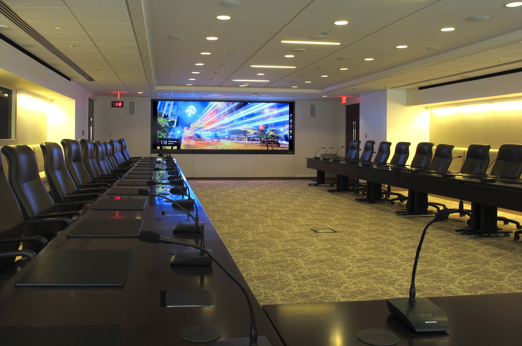 PhRMA Revitalizes Executive Boardroom with a Prysm Cascade Video Wall