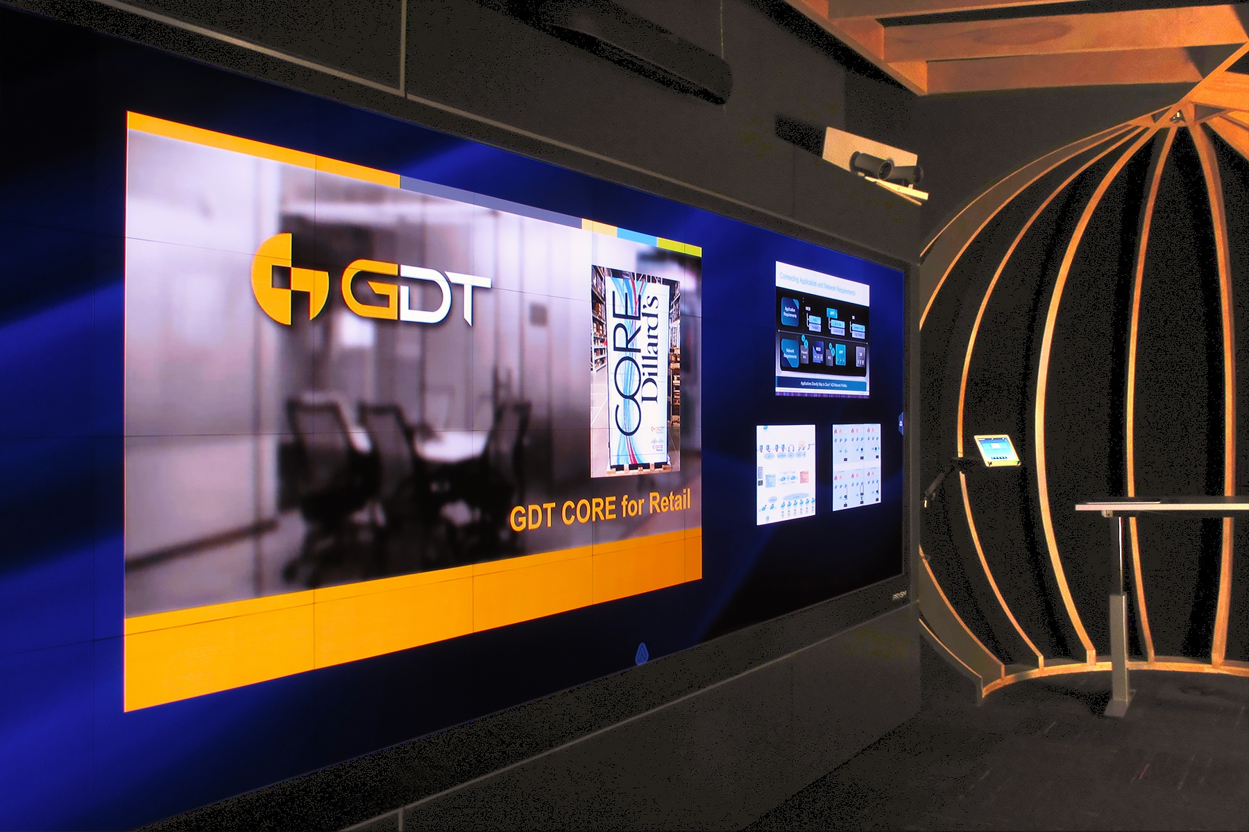 GDT Installs Prysm Video Wall as a Customer Experience Centerpiece