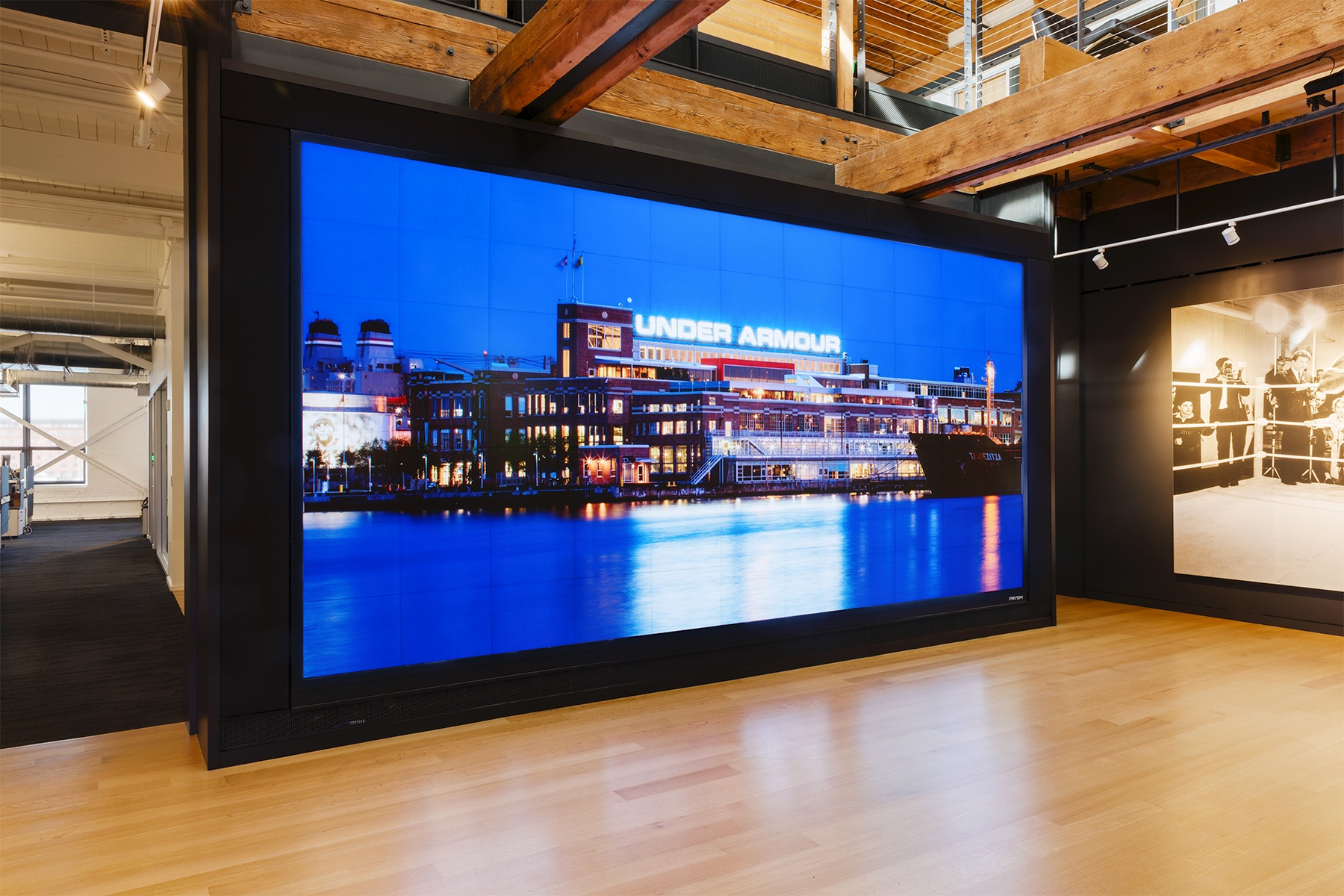 Prysm Brings State-of-the-Art Video Wall to Under Armour