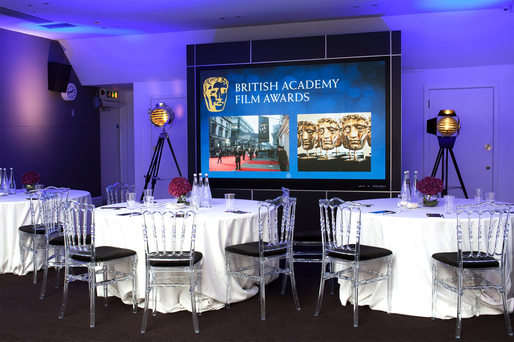 Prysm Plays Starring Role at BAFTA 195 Piccadilly