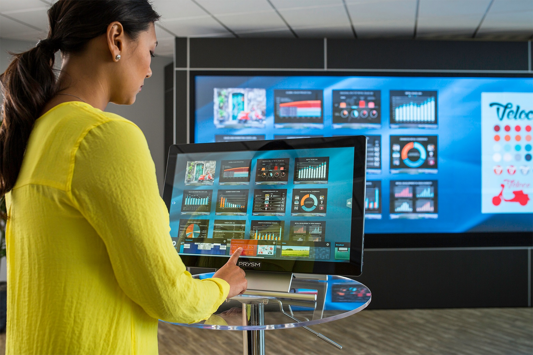 Prysm Introduces Remote Touch Console