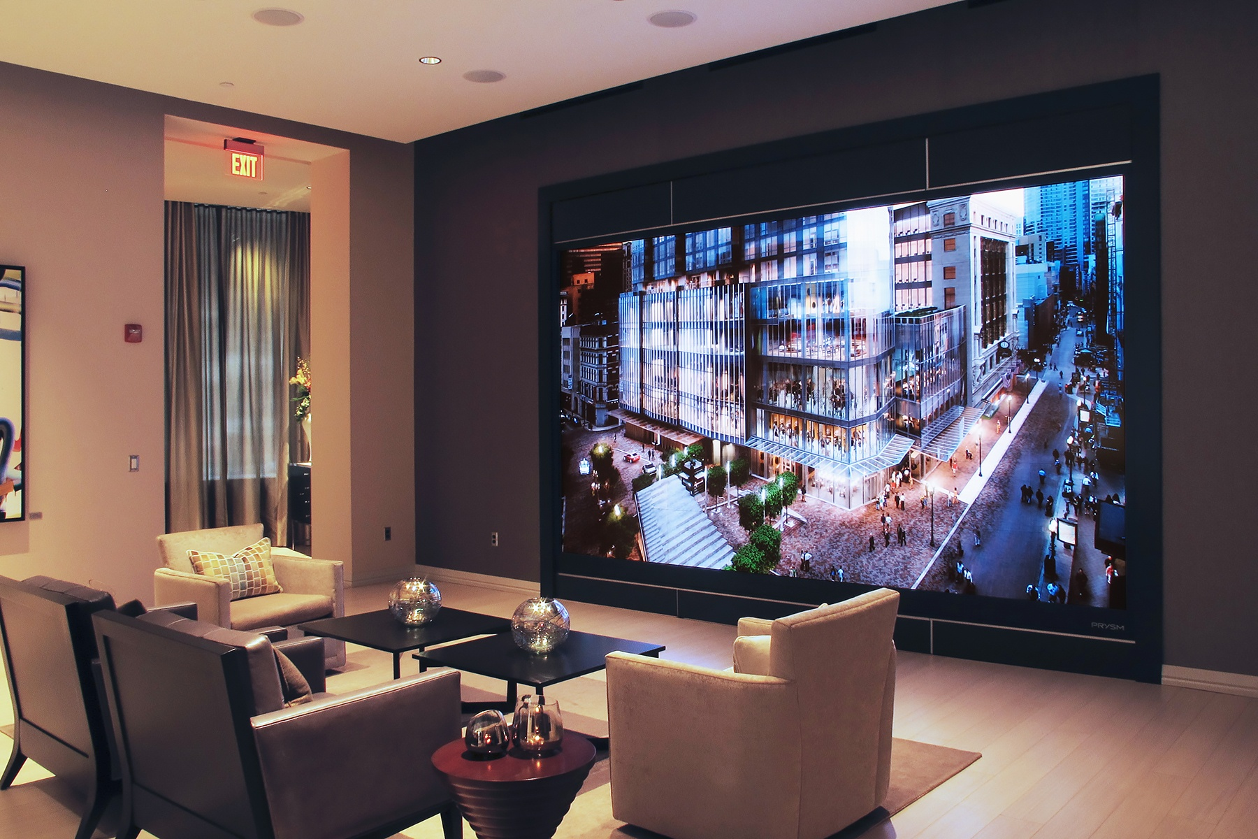 Millennium Tower Boston Sales Soar with Prysm Olympic Video Wall